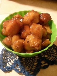 """Honey Chicken! 4.38 stars, 228 reviews. """"Instead of using half the sauce for after baking I cooked all the saucse in it made it thicker and caramelized the chicken better I also added a little bit of ginger to the honey sauce and use real butter I don't like margarine"""" @allthecooks #recipe #chicken #dinner #honey #easy #hot"""