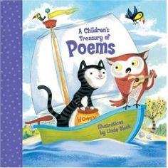 A Children's Treasury of Poems  Words and Music by Various Artists  Illustrated by Linda Bleck - more info here - http://singbookswithemily.wordpress.com/2013/03/03/childrens-treasuries-by-linda-bleck-with-many-singable-treasures/
