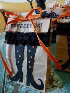 Halloween Treat Bags Idea