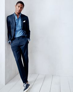These days there's more than one way to wear a suit but still just one place where you'll find the best fits, fabrics and quality. Visit jcrew.com to learn more.
