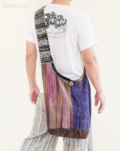 Unique Hippie Boho Handwoven Patchwork Shoulder Bag (MB-34)