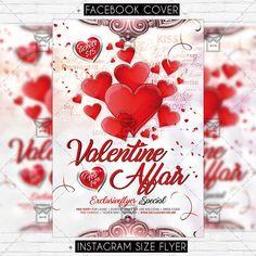 Valentine Affair - Premium Flyer Template https://www.exclusiveflyer.net/product/valentine-affair-premium-flyer-template/