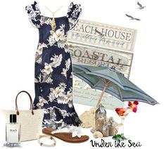"""""""* BEACH FRONT *"""" by hrfost1210 on Polyvore"""