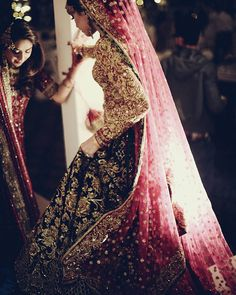 Nomi ansari dress - pakistani bridal dress.                                                                                                                                                                                 More
