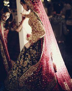 Nomi ansari dress - pakistani bridal dress.                                                                                                                                                                                 More