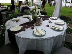 More wedding table pics