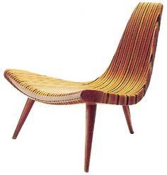 Mostra Design Brasileiro em Milão - Público italiano vê a originalidade do design brasileiro    Joaquim Tenreiro: