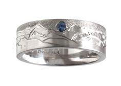 Custom Mountain Ring   The Gem Gallery