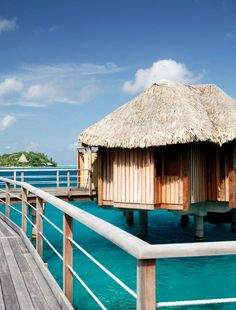 Luxe island retreat in idyllic Bora Bora with overwater bungalows, an infinity pool and a killer spa.
