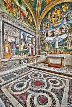 Pinturicchio - Santa Maria in Aracoeli - Rome