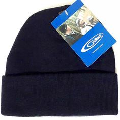 Gelert Knitted Beany Watch Hat Navy Blue Double layered for warmth Acrylic Gelert winter beanie watch hat in Navy Blue at Tontojacks Plymouth Knit Beanie, Navy Blue, Hats, Winter, Winter Season, Hat, Knit Hats, Knitted Beanies