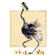 El Avestruz que no deja de mirarte