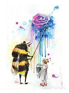 Mr Bumblebee Art Print at AllPosters.com