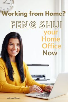 Feng Shui your home office to become more productive. If you work from home there are lots you can do to change the energy that flows in this space where you need to be creative and productive. Office Organization At Work, Home Organization Hacks, House Cleaning Tips, Diy Cleaning Products, How To Feng Shui Your Home, Feng Shui House, Feng Shui Tips, Career Inspiration, Good Energy