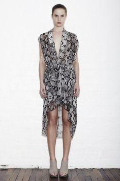 Sara Phillips Short Snake Fraser Dress