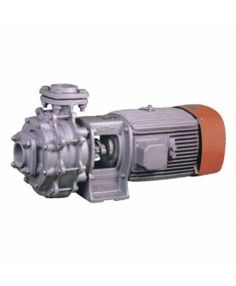 Kirloskar Three Phase Two Stage Monoblock Pumpset KDT 1050+, Code No. D12031000110, Size Suc. X Del. (mm) 80x65, Power Rating 10 HP and 7.5 KW, Speed 3000 RPM, Head Range 28-52 Meter, Flow Range 510-792 LPM, Packaging Unit-1, Warranty- As per manufacturer's warranty Policy.