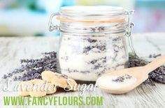 Lavender Sugar Recipe