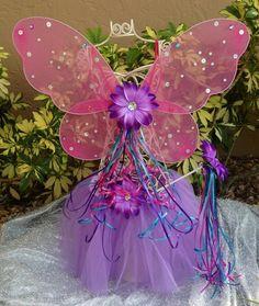 Winx Club Fairy Wings Fairy Tutu Fairy Wands Pink by partiesandfun, $18.50