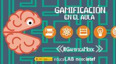 """Logo del MOOC """"Gamificación en el Aula"""" para el que he creado este tablero"""