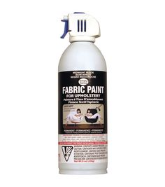 $12.99 at Joann Fabrics Upholstery Spray Fabric Paint 8oz-Midnight BlackUpholstery Spray Fabric Paint 8oz-Midnight Black,