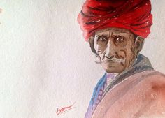 Red Turban-> Sell Your art at www.argato.de! #Artwork #kunstwerk #painting #modernekunst #malerei #galerie #artist #eventart #diekunstmacher #abstraktekunst #modernart #modernpainting #painter #abstractpainting #galleryart
