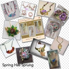 Collage 2 .. Spring Has Sprung .. March and April Challenge