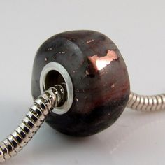 Michigan Native Copper Ore large hole bead charm fits all Pandora style bracelets $28 by rwilberg