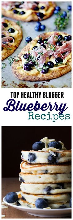 Check out my Top Healthy Blogger Blueberry Recipes!!