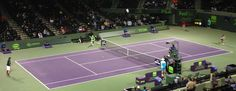Hass vs Simon at the #SonyOpen in Miami
