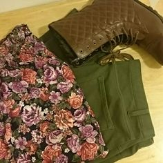 Selling this Gorgeous Floral Blouse in my Poshmark closet! My username is: bliss25. #shopmycloset #poshmark #fashion #shopping #style #forsale #Tops