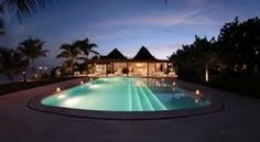 Your private pool....at night!