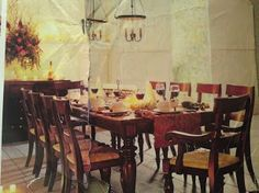 British Colonial Dining