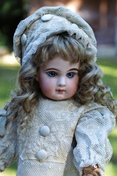 """Lovely 15"""" Jumeau from the Emile Jumeau Period from bebesatticfinds on Ruby Lane"""