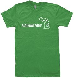 SAGINAWESOME T-Shirt from Michigan Awesome