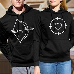 pärchen hoodies / couple sweatshirts/ his and hers hoodies /