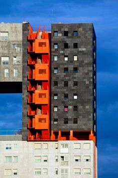 Mirador apartment building, Madrid Spain (2005) | MVRDV | Architizer