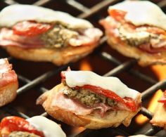 Italian Grilled Crostini