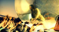 Flaming Lips, by Cody. Pitchfork Music Festival, 2009.