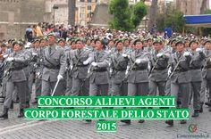 CONCORSO ALLIEVI AGENTI CORPO FORESTALE 2015