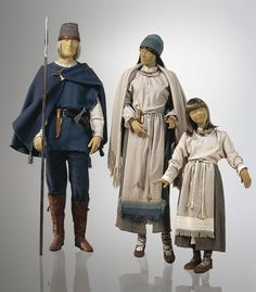 12th-13th century east Lithuanian tribal dress.