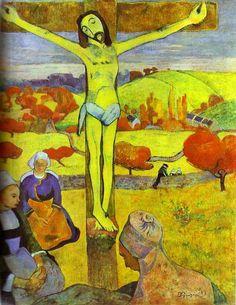 Paul Gauguin >> The Yellow Christ
