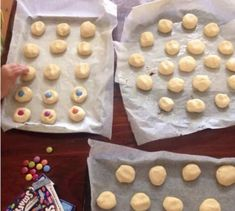 100 Cookies From One Single Batch - 4 Ingredients Lemon Curd Cookies Recipe, 100 Cookies Recipe, Cake Cookies, 4 Ingredient Cookies, 4 Ingredient Recipes, Yummy Treats, Delicious Desserts, Yummy Food, Sweet Treats