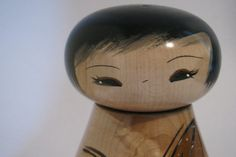 Sugar+maple+kokeshi+doll+by+NaomiGallery+on+Etsy,+$86.00
