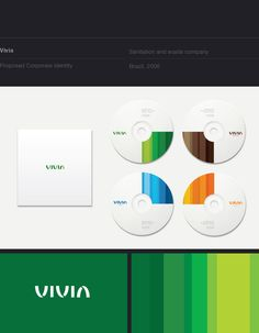 10 Corporate Identities by Roger Oddone, via Behance