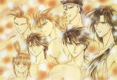 Tags: Fushigi Yuugi, Watase Yuu, Mitsukake, Chiriko, Tamahome, Nuriko, Hotohori, Chichiri, Tasuki, Suzaku Kounankoku