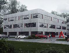 """Check out new work on my @Behance portfolio: """"Volvo Offices"""" http://be.net/gallery/51492209/Volvo-Offices"""