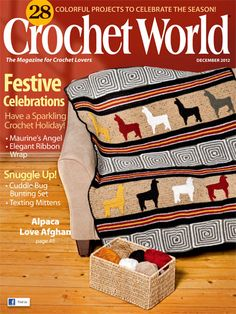 !   Take a quick peek at what awaits you and you're sure to agree,  Crochet World  is a terrific inspiration. Download it now and you'll be relaxing with fresh crochet project ideas in just minutes!        Get a one-year digital subscription  complet...