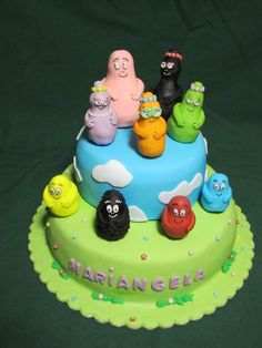 SKACCIA KITCHEN: BARBAPAPA' CAKE