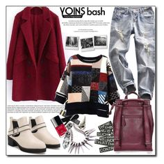 """""""Yoins XVIII"""" by adnaaaa ❤ liked on Polyvore featuring Louis Vuitton, women's clothing, women, female, woman, misses, juniors and yoins"""