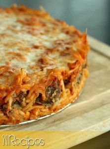 Spaghetti Pie | 01Recipes